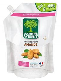 Recharge Vaisselle Mains Amande L'Arbre Vert