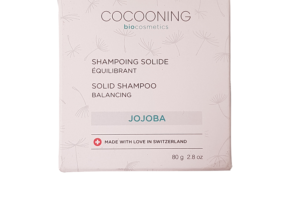 Shampoing solide équilibrant