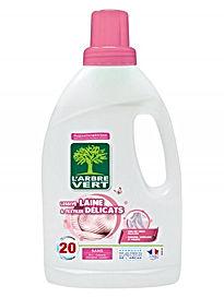 Lessive Laine & Textiles délicats, écologique 1.2L l'Arbre Vert