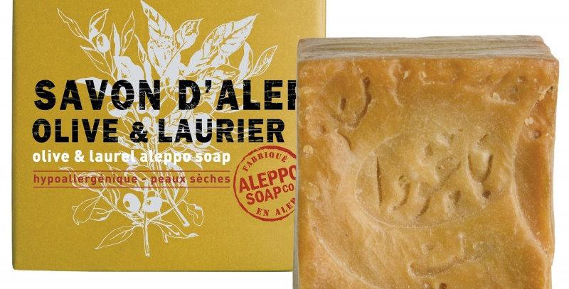 Savon d'Alep Olive & Laurier, surgras