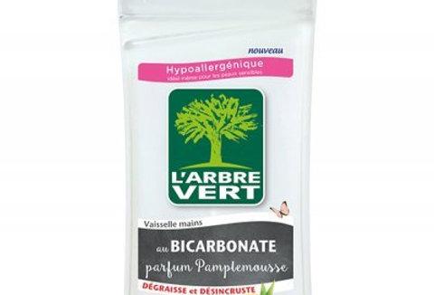 Vaisselle Mains au Bicarbonate parfum Pamplemousse 750ml L'Arbre Vert