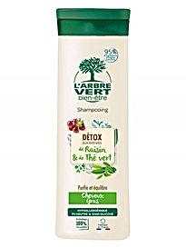 Shampooing écologique, cheveux gras 250ml, l'Arbre Vert