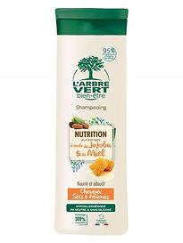 Shampooing écologique, cheveux secs et abimés 250ml, l'Arbre Vert