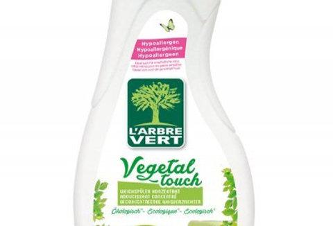 Adoucissant concentré Vegetal Touch, écologique 800ml l'Arbre Vert