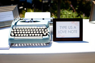 Uniquely creative alternatives to guestbooks