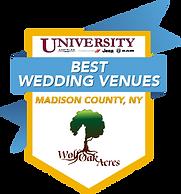 Univ. CDJR Best Wedding Venues Madison N