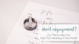 Planning your wedding in 1 month