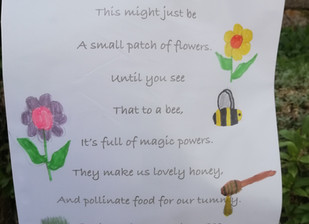 Poem from the kids of North Bovey