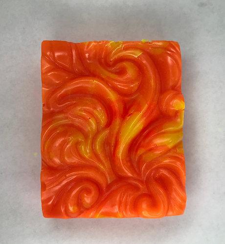 Orange and Yellow Swirl