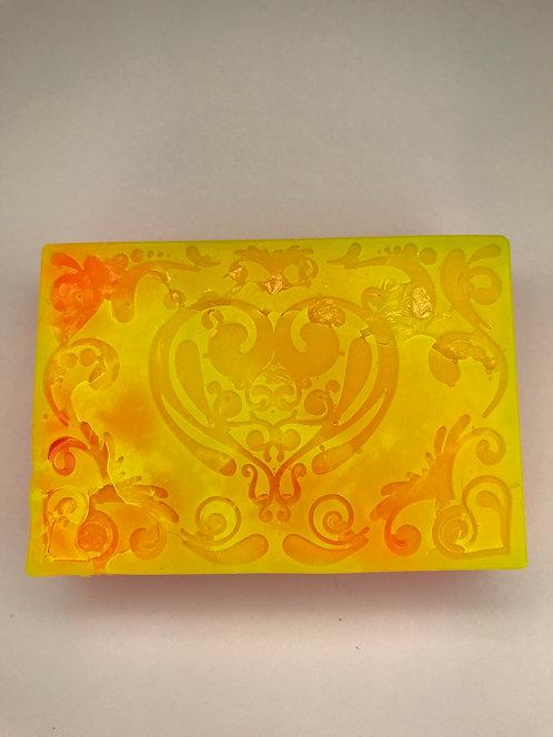 Orange/Yellow Heart