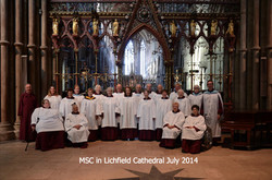 MSC at Lichfield Cathedral July 2014