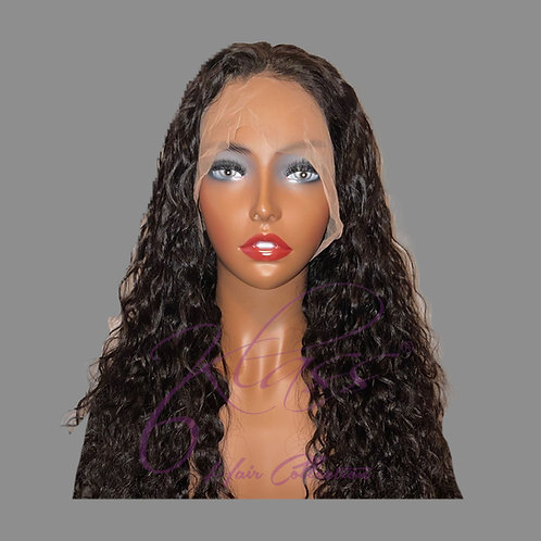 Natural Curl Lace Front Wig