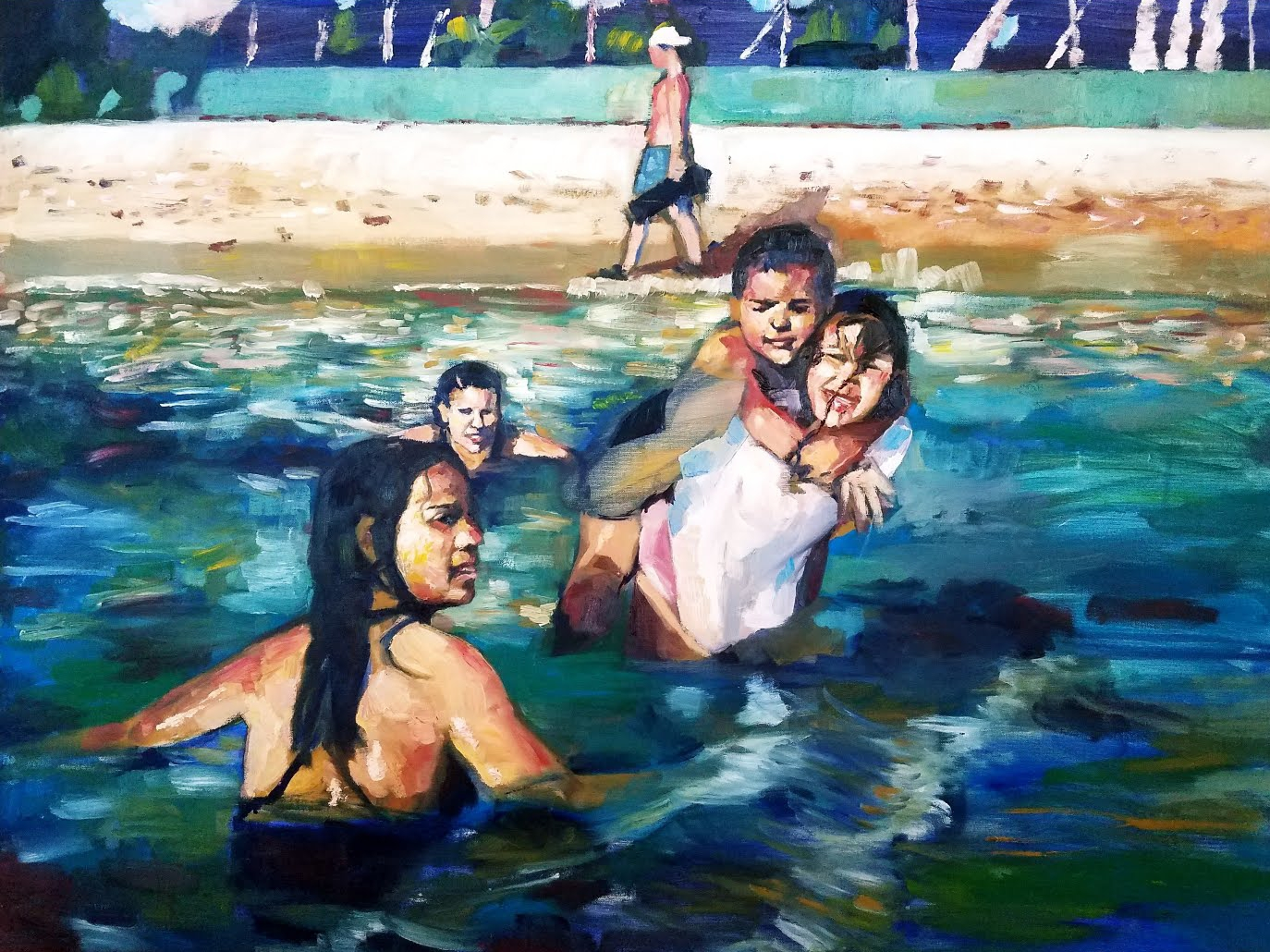 Blue or Bathers