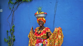 The Fruit-Seller of Cartagena, Colombia