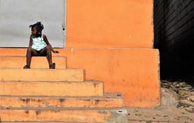 The Little Girl By The Roadside, Port-au-Prince, Haiti