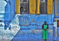 The Lady In Green, Port-au-Prince, Haiti