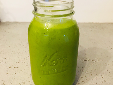 Hulk Juice- A Green Smoothie for Athletic Families