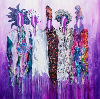 Purple Ladies