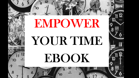25 tips to Empower your Time eBook
