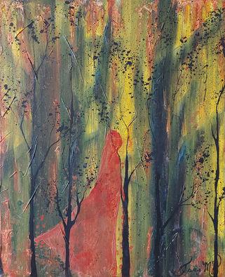 Dame nature dans la forêt