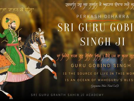 Perkash Diharra of Sri Guru Gobind Singh Ji