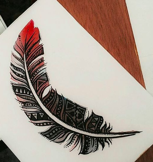#indianink #watercolortattoo #watercolor #aquarelle #aquarelletattoo #art #artist #draw #draw..