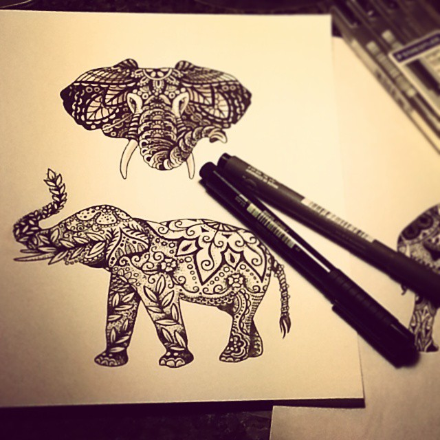 Some #elephants for tonight