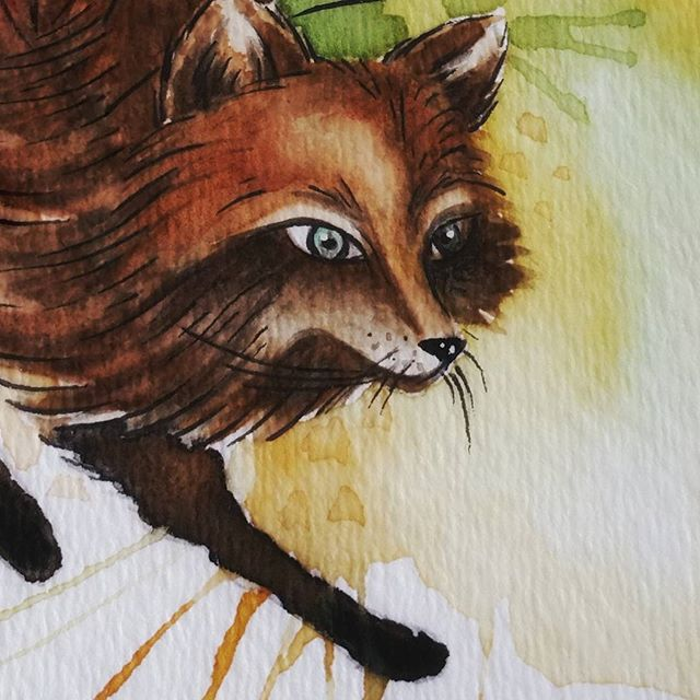 #foxy #watercolor 🎨 #aquarelle #fox #watercolorfox #watercolour #watercolorpainting #draw ##sketch