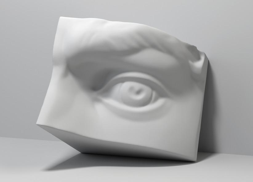 dettaglio di scultura