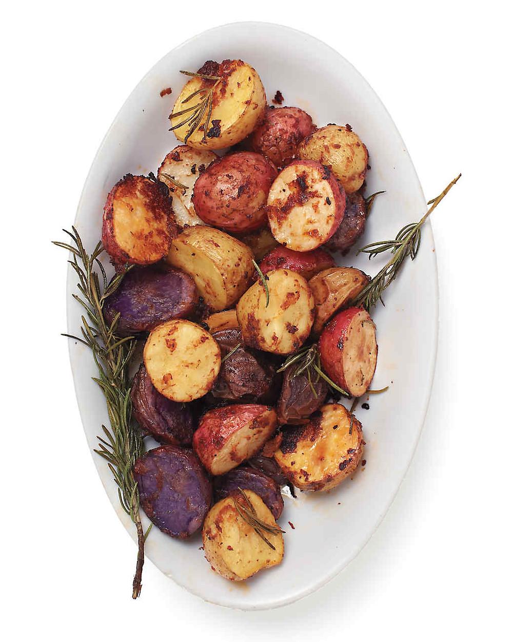 Sun-dried Tomato Roasted Potatoes
