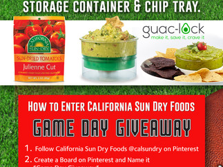 Game Day Giveaway Social Sweepstakes!