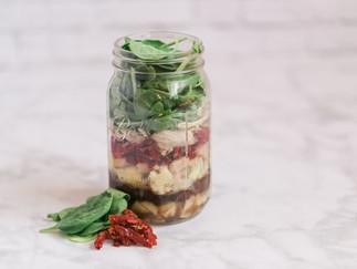 Mason Jar Meals For On-The-Go!