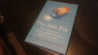 Book Review: The Salt Fix by Dr. James DiNicolantonio