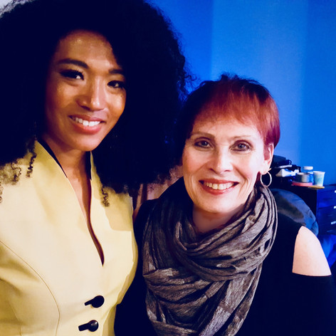 Judith Hill and Janis Mann