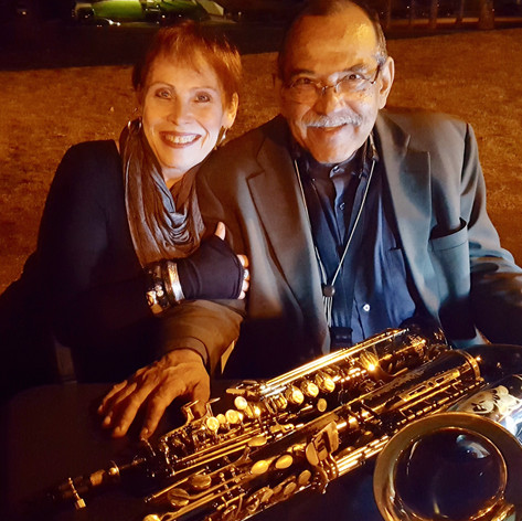 Janis and Ernie Watts at the Muck