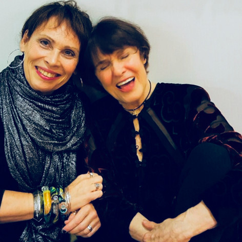 Janis Mann and Ruth Price