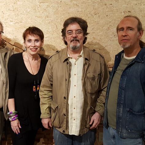 Kenny, Janis, Duduka, Drew at Samurai Hotel