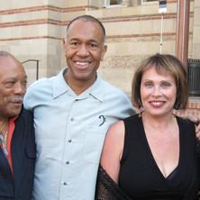 Quincy Jones, John Clayton, Janis Mann
