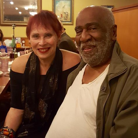 Janis Mann with John Heard