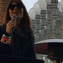 Janis Mann at LACMA