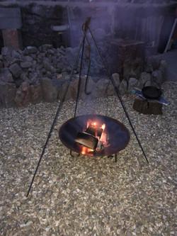 Wood Smoked Fire Pit