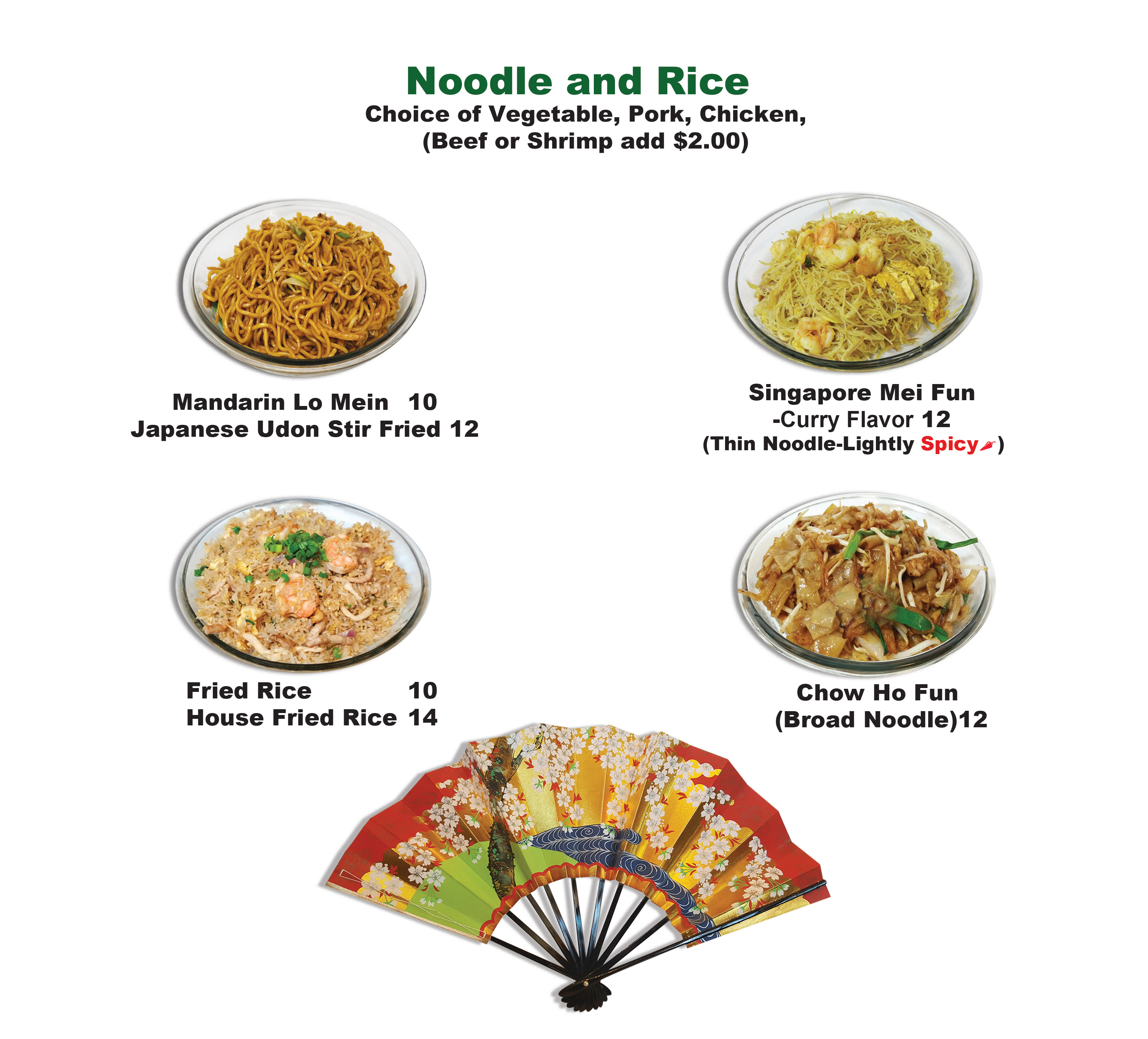 Noodle and Rice