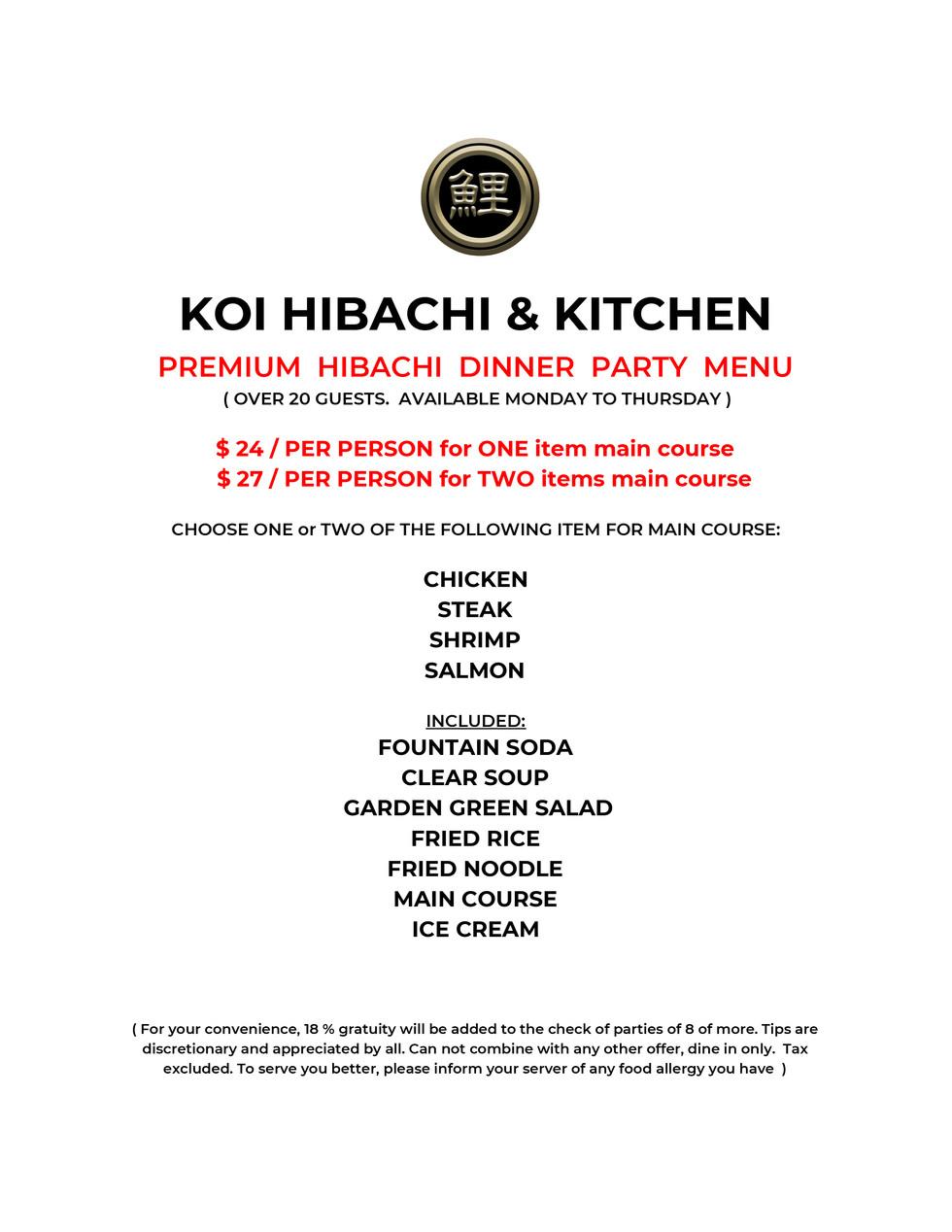 Koi Hibachi Sushi Party Tray $49.95-2.jp