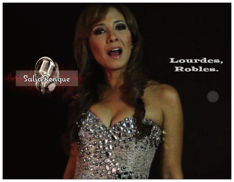 Lourdes Robles.