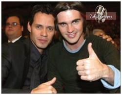 Marc y Juanes.