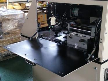 レーザー打刻装置の設計製作