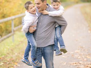 Herbst Shooting mit Familie Becker