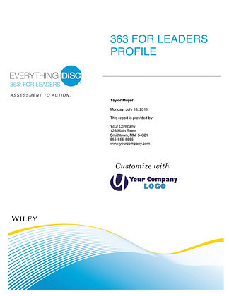 Everything DiSC- 363 For Leaders-Profile