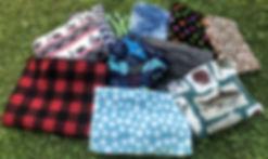 Paddle Bag Fleece Stock