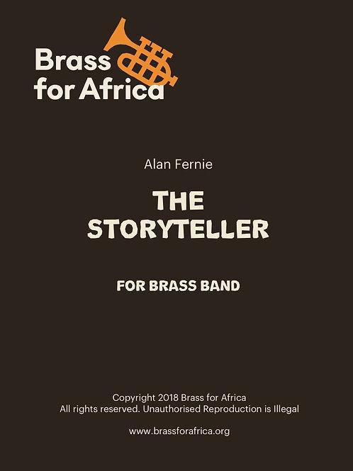 THE STORYTELLER for Brass Band, by Alan Fernie